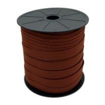 Omboorband markiezen rol 150 meter steenrood